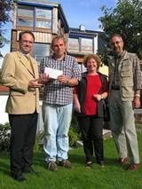 Spenden für das Schumaneck Kinderhaus in Brühl