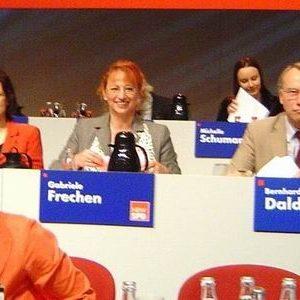 Gabriele Frechen auf dem Landesparteitag der NRWSPD