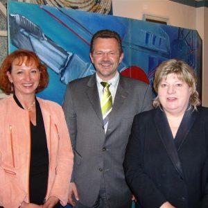 Gabriele Frechen, Franz Thönnes und Helga Kühn-Mengel