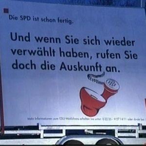 Die CDU muß ihre Landtagskandidaten neu wählen.