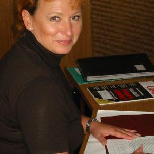 Gabriele Frechen in ihrem Berliner Büro