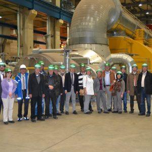 Die SPD-Kreistagsfraktion bei einer RWE-Kraftwerksführung in Niederaußem