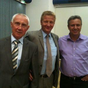 Hans Krings, Ralf Jäger und Michael Mertens