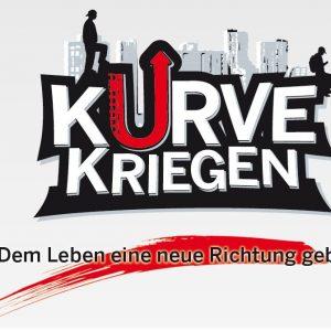 """Logo des NRW-Projekts """"Kurve kriegen"""""""