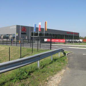 Das SANY Werk in Bedburg