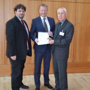 Guido van den Berg, Ralf Jäger und Hans Krings