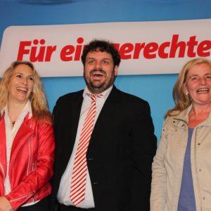 Dagmar Andres, Guido van den Berg und Brigitte Dmoch-Schweren