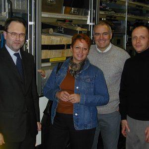 Besuch bei Feuerwehr 23.01.2004