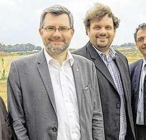 Harald Könen, Dietmar Nietan, Guido van den Berg und Peter Münstermann