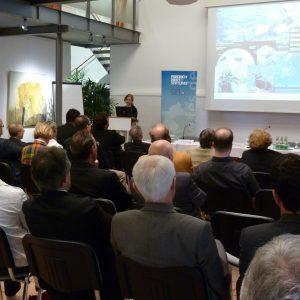 Volles Haus bei der Friedrich-Ebert-Stiftung am 16.06.2012 in Paffendorf