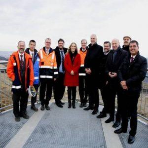 Besuch von Minister Garrelt Duin bei RWE in Garzweiler