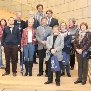 Besuchergruppe der SPD Elsdorf im Landtag