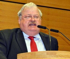 Guntram Schneider beim Politischen Ascherdonnerstag in Pulheim