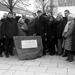 Bennenung des Otto-Wels-Platz in Wesseling