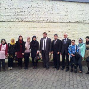 Besuch bei Moschee Quadrath-Ichendorf mit Gruppe Morgenröte