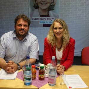 Guido van den Berg MdL und Dagmar Andres MdL