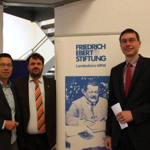 Dierk Timm, Guido van den Berg MdL und Florian Herpel