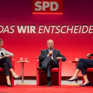 Gertrud und Peer Steinbrück im Gespräch