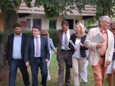 Minister Michael Groscheck besucht Bergheim Süd-West