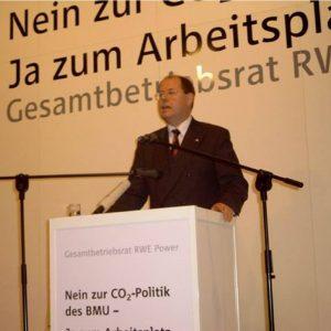 Perr Steinbrück kritisiert die Emmissionshandelspolitik des Bundesumweltministeriums