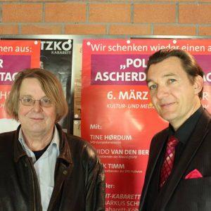 """""""Escht-Kabarett"""": Christian Bechmann, Markus Schimpp"""