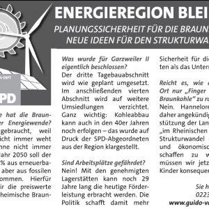 Anzeige zu Garzweiler II vom 12.04.2014 in der Sonntags-Post