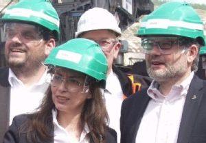 Guido van den Berg, Yasmin Fahimi und Dietmar Nietan