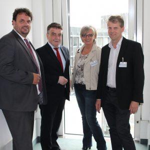 Guido van den Berg, Michael Groschek, Elke Bratkowski, Dr. Kai Fassbender
