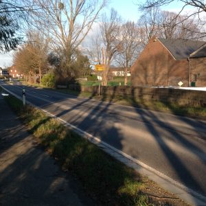 Ortseinfahrt Bedburg-Rath