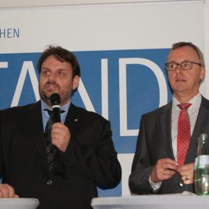 Posiumsdiskussion RWE Standort Zukunft in Hürth