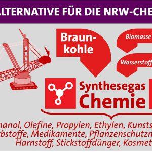Braunkohle kann ein Ersatz für importiertes Öl der Chemieindustrie werden