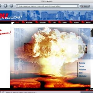 "CDU Erft-Kreis (Montage): Atombombe ""X3FS5H2"" fertig gestellt"