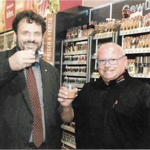 Guido van den Berg MdL und Wolfgang Grundhöfer