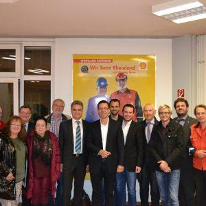 Die SPD-Fraktion zu Besuch bei Shell in Wesseling