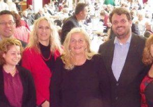 Neu gewählter SPD-Kreisvoirstand: Dierk Timm, Claudia Lemke, Dagmar Andres MdL, Brigitte Dmoch-Schweren MdL, Guido van den Berg MdL und Ute Meiers