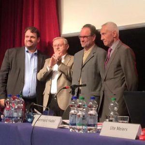 Guido van den Berg MdL, Edgar Moron, Bernhard Hadel, Hans Krings
