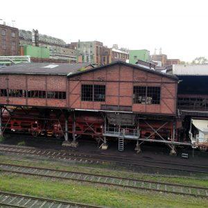 Bahnverladung im Veredlungsbetrieb Frechen der RWE