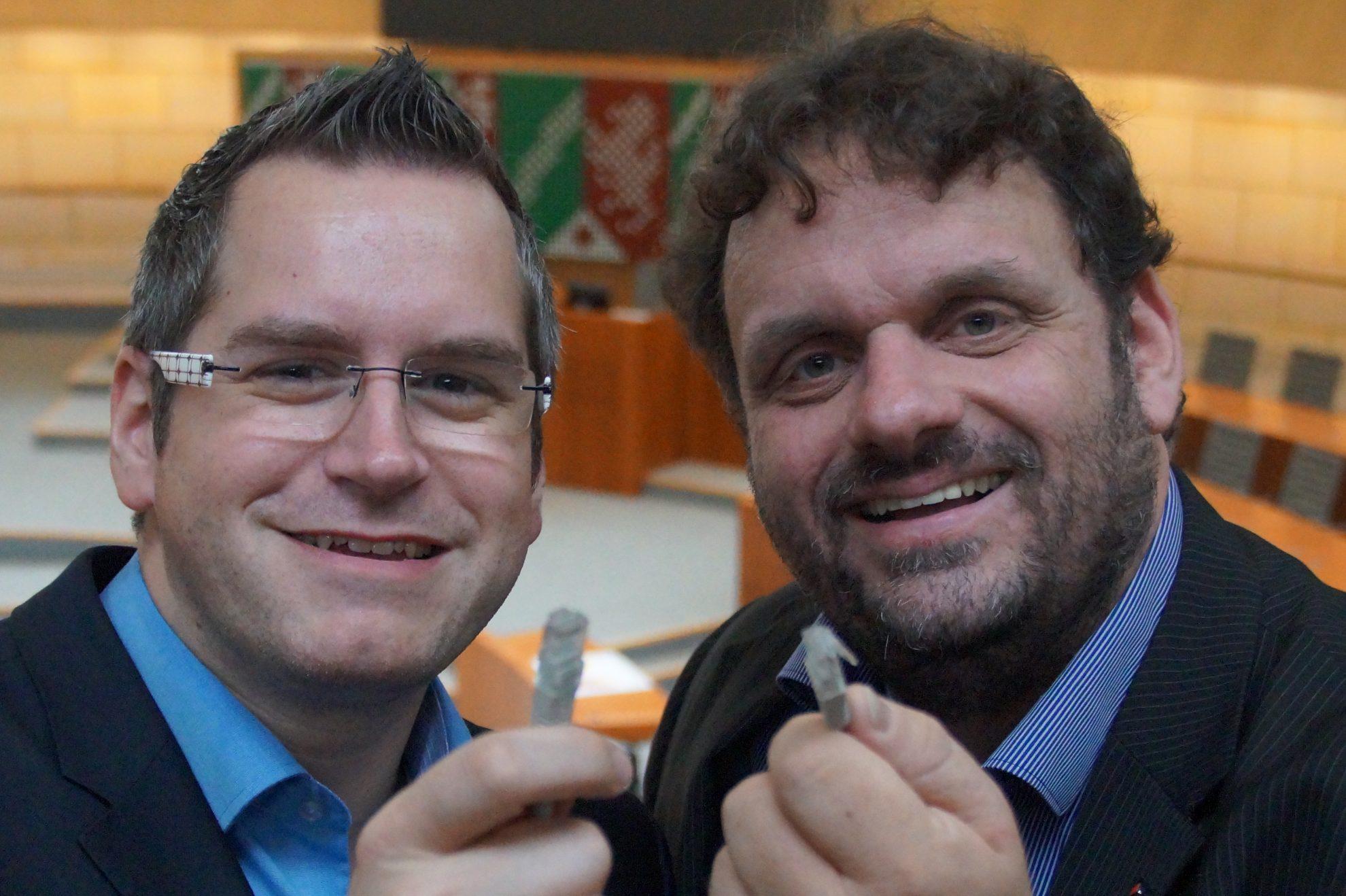 Sascha Solbach und Guido van den Berg
