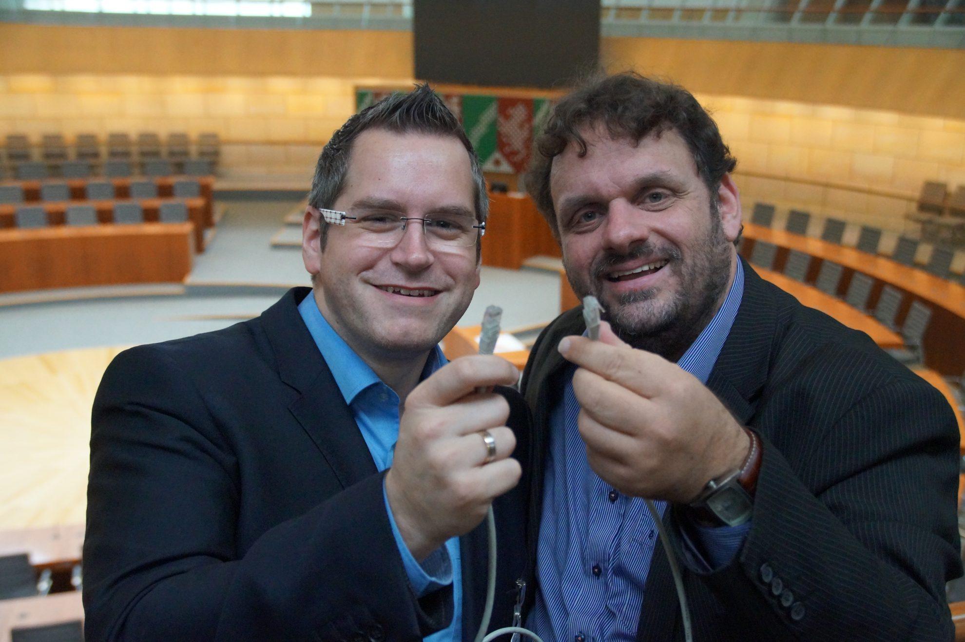 Sascha Solbach und Guido van den Berg (11.11.2015)