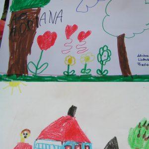 Rotmann Kindermalwettbewerb Motiv