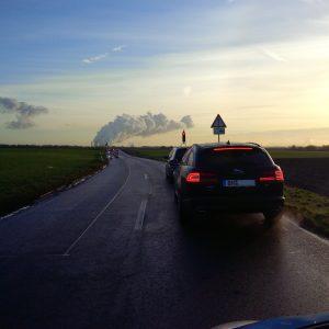 Ampel zwischen Pütz und Millendorf auf der L279