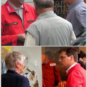Rotmann Aktionn in Brühl