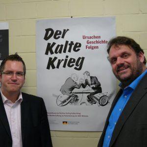 """Ausstellungseröffnung """"Kalter Krieg"""" im Rathaus Bedburg"""
