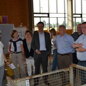SPD-Fraktion besichtigt Werkstätten der WIR gGmbH in Hürth