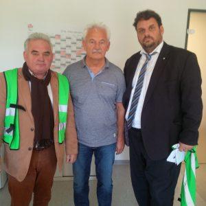 Harald Könen, Günther Janssen, Guido van den Berg MdL