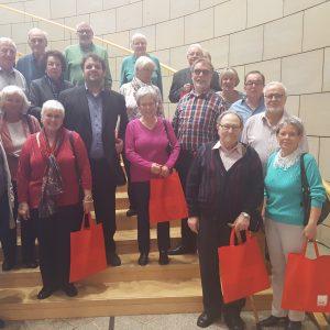 Die AWO Glesch und die AWO Kaster/Königshoven besuchen den Landtag