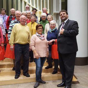 AWO Stommeln besucht den Landtag