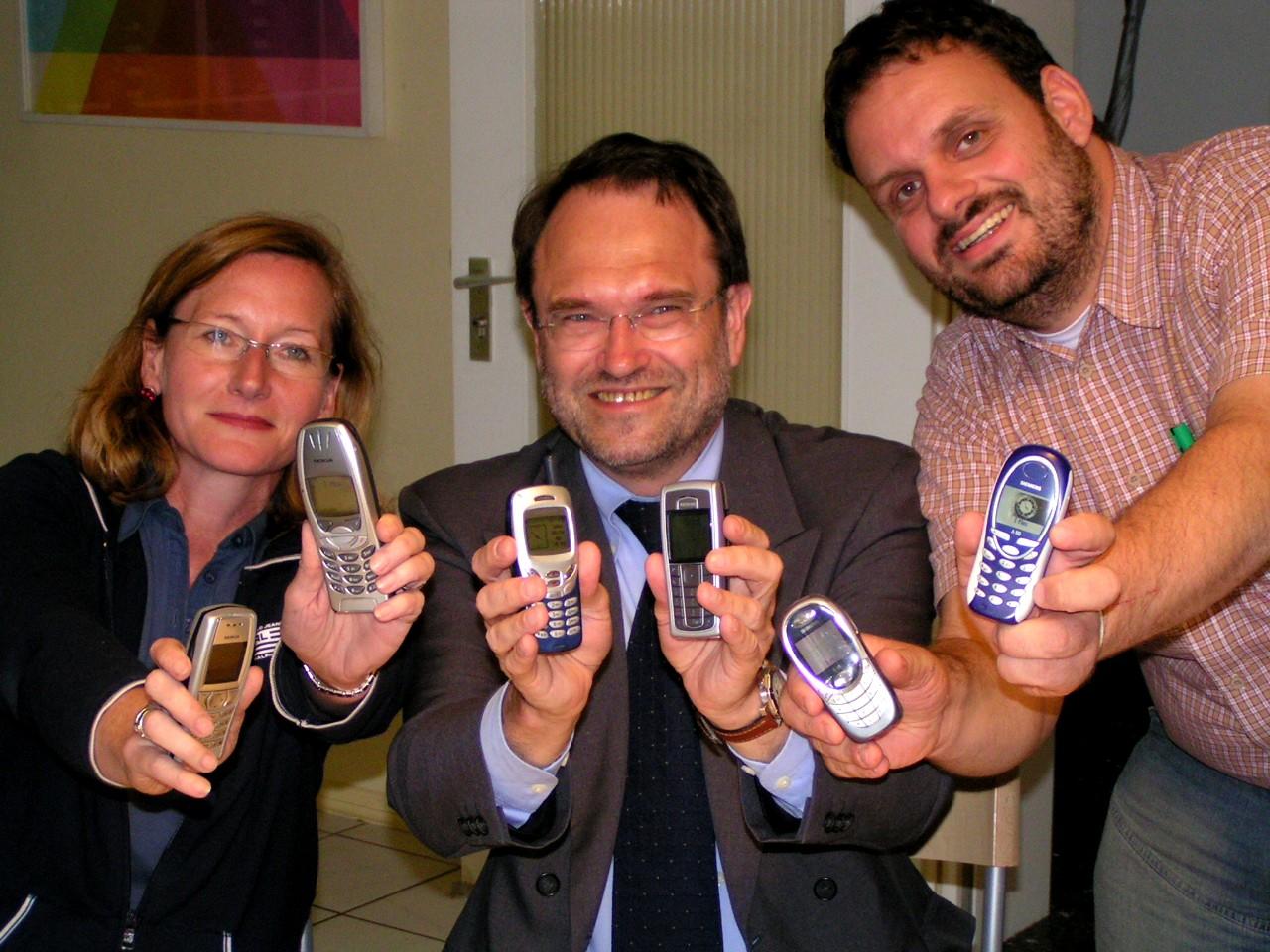 Susanne Boehnke, Bernhard Hadel und Guido van den Berg