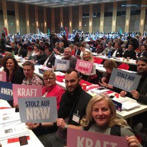 Die Delegatrion aus dem Rhein-Erft-Kreis auf dem SPD-Landesparteitag