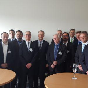 Das Projektteam von Quirinus im NRW-Landtag